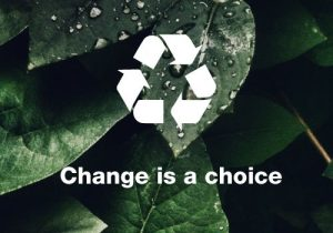 Change is a choice